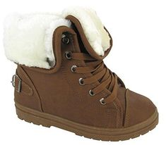df704ada1 New Ladies Faux Fur Grip Sole Womens Winter Ankle Boots Trainers Shoes
