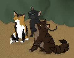 mistkit, nightkit, and tigerkit