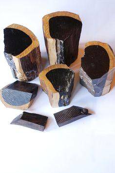 Zambian hardwood. Love the COLOR!