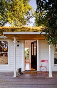 Sauvie Island Tiny Home front porch