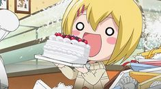 This cake I can have it right? Did I mention I love cake? :D
