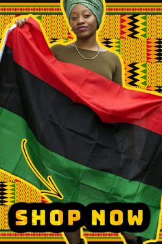 Red Black Green Flag, African American Flag, Africa Flag, Marcus Garvey, Flags For Sale, Black Entrepreneurs, August 13, African Diaspora, African History