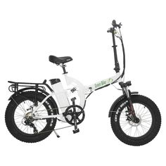 0500a3e320 Green Bike USA GB500 48V 500W Fat Tire Electric Folding Bike
