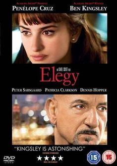 Elegy was directed by Spanish director Isabel Coixet and adapted by Nicholas Meyer from the Philip Roth novel, The Dying Animal. The film stars Penélope Cruz, Ben Kingsley, and Dennis Hopper, and co-stars Patricia Clarkson and Peter Sarsgaard in supporting roles.