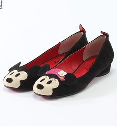 Mickey and Minnie shoes