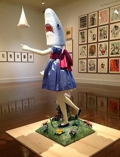 "Casey Riordan Millard's ""Shark Girl"" now part of the Cincinnati Art Museum's permanent collection."