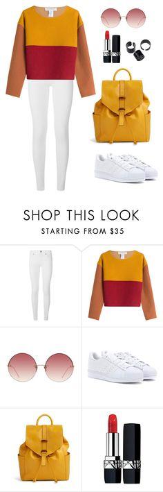"""Street Style"" by kamela25 ❤ liked on Polyvore featuring Burberry, Philosophy di Lorenzo Serafini, Linda Farrow, adidas, Vera Bradley and Christian Dior"