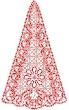 FSL element free machine embroidery design 11 - Lace and FSL free embroidery designs - Machine embroidery community