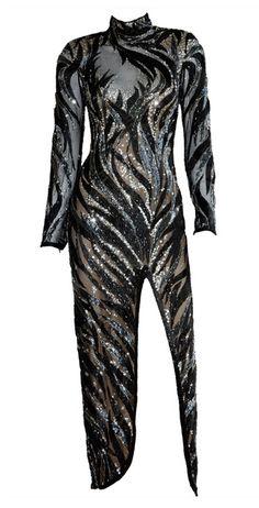80s-TASTIC I love it  Dress, Bob Mackie, 1980s