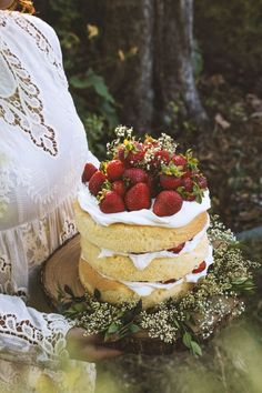 rustic naked cakes15
