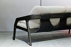 Salone Internazionale del Mobile - Zeitraum Möbel Lounge Sofa, Chaise Sofa, Wood Sofa, Sofa Furniture, Sofas, Interior Design, Exhibitions, Furnitures, Chairs