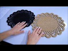 MAKROME İPTEN SUPLA YAPILIŞI // 1 GÜNDE 6 SUPLA YAP - YouTube Crochet Bracelet, Crochet Earrings, Get Rid Of Mold, Crochet Dollies, Crochet Mandala, Crochet Home, Decoration Table, Crochet Designs, Doilies