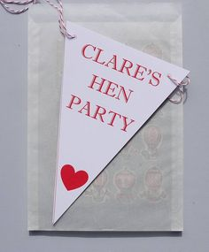 personalised hen party bunting by daisyley | notonthehighstreet.com