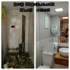 Projeto de arquitetura - Salão Studio Espaços UP Banheiro
