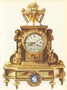 A watch in Louis XVI style. Milan, private collection.