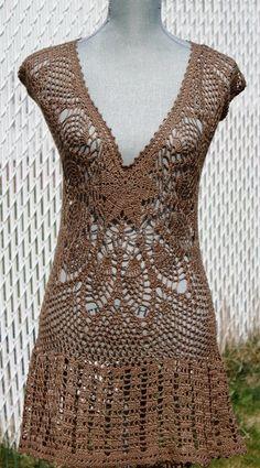 Brasil Tricô e Crochê - Handmade encomendas: vestidos de croche