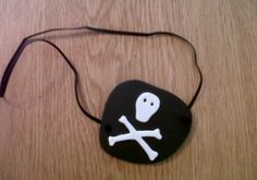 How to make a Pirate Eye patch using craft foam