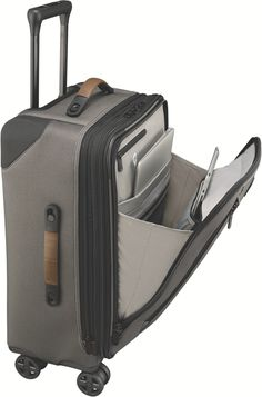 Victorinox Lexicon Dual-Caster Large Carry-On Exp. Victorinox Swiss Army, Travel Accessories, Wallet, Leather, Ideas, Pocket Wallet, Handmade Purses, Thoughts, Travel Essentials
