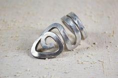 aluminium jewelry RING Adjustable aluminium ring by Violanima