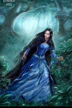 "Illustration for book ""Silmarillion"" J.R.R.T. by Esmira"