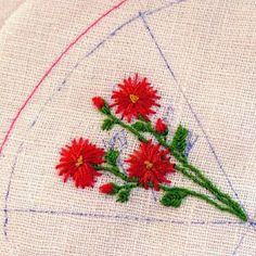 fiberluscious: Summer Garden Tutorial Part 3 - Mums for Mom!