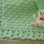 Copertina a uncinetto con noccioline Manta Crochet, Baby Cover, Newborn Crochet, Crochet Patterns, Elsa, Kids Rugs, Camilla, Blanket, Grande