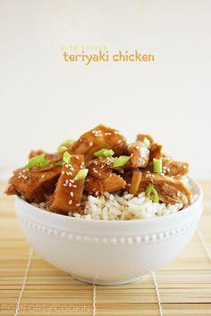 The Comfort of Cooking » Slow Cooker Teriyaki Chicken.