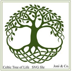 Celtic Tree of Life svg file, Celtic knots, Irish tree of life svg file for weddings, vinyl cutting, print, iron on transfer and many creative projects  Welcome,  Thank you for visiting the shop and having a look at the original artwork offered here.  This is an instant download of a SVG file to be used for cutting vinyl among many other uses. The file is in black and white for you to color with your favorite color.  WHAT YOU WILL RECEIVE  Your svg file will arrive in a zip folder.  A…