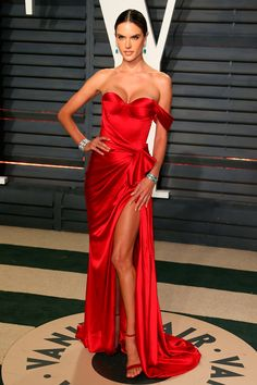 Alessandra Ambrosio  The best celebrity style at the 2017 Oscars after parties