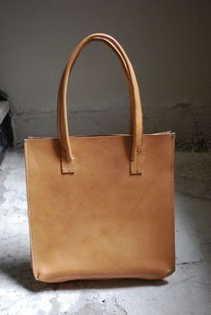 Leather Shopping Bag by Larissa Zemke | Project | Sewing / Accessories | Bags & Purses | Kollabora