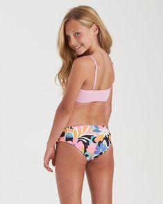 Billabong And On Tali Bikini Bottoms, Bikini Tops, High Neck Bikini Set, Tank Design, Swim Sets, Floral Bikini, Bikinis, Swimwear, Billabong Girls