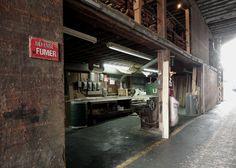Centre de rénovation St-Patrick. Tyre Shop, Construction Process, Montreal, Centre