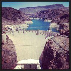 Hoover Dam in Nevada/Arizona, NV