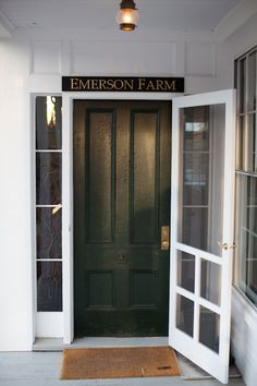 """This classic New Hampshire farmhouse is """"home"""" to Ryan & Emerson Fry, creators of the oh-so-preppy clothing line, EmersonMade . You might..."""