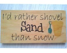 Beach house wall decoration-Funny beach by Thequirkyimage on Etsy