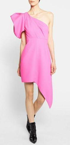 Beautiful, one shoulder dress by Saint Laurent