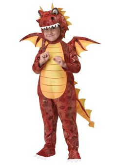 Toddler Medieval Dragon Costume - Kids Fire Breathing Dragon Costumes