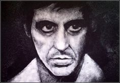 Al Pacino portrait made with salt, a razor blade and Q-tips, by Bashir Sultani Salt Art, Celebrity Portraits, Beautiful Celebrities, Black Backgrounds, Making Out, Culture, Illustration, Artist, Table Salt