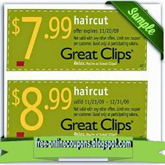 Use Free Printable Great Clips Coupons for big discounts Great Clips Coupons, Best Buy Coupons, Local Coupons, Grocery Coupons, Online Coupons, Mcdonalds Coupons, Free Printable Coupons, Free Printables, Golden Corral Coupons