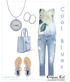Cool Blues #Fashion with #OrigamiOwl