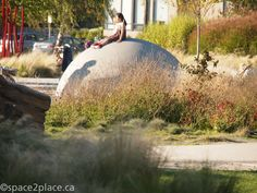 Concrete Dome at Garden City Playground. Designed by space2place