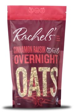 Cinnamon Raisin Overnight Oats - 14 oz