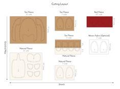 Fre corgi sewing pattern