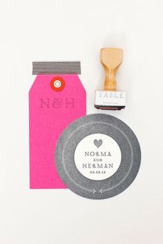 wedding invites by Maemae Paperie