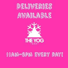 Want a Yog Bar FroYo but don't want to move for it?? Call us on 0151 345 6369 to place your order and use our delivery service to your advantage! Min order 10 and small delivery charge may apply. This week's orders have seen us venture to:  Very.co.uk in Liverpool Jones & Chapman Estate Agents in Bebington  Wingbox in Tranmere  Wirral 6th form students  Mirror Mirror Hair Salon in Heswall  And a number of houses in Oxton Wallasey Hoylake Moreton & Prenton! #Deliveries #froyo #froyoonthego…