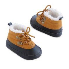 Baby+Boy+Carter's+Prewalker+Plush-Lined+Duck+Boot+Crib+Shoes+