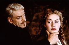 Kenneth Branagh (Hamlet) and Kate Winslet (Ophelia) in movie 1996