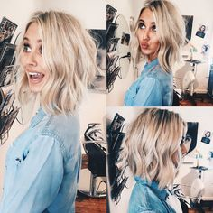 Julianne Hough bob done by Madison Suppes, love! Instagram: maddietsuppes | Just Hair. | Pinterest | Julianne Hough, Bobs and Blondes