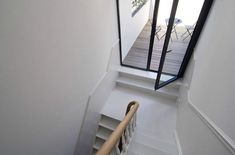 House J & M by Bruno Vanbesien via desire to inspire stairs