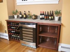 HGTV shows how to store your wine in style with these step-by-step instructions.